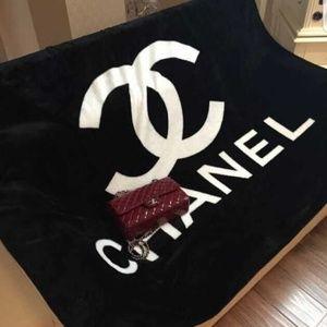 Big Chanel Fleece Blanket